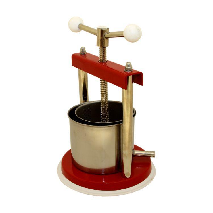 Ferrari 14kg fruit press equipment fruit presses equipment for Home wine press