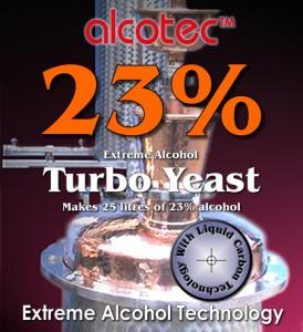 Alcotec 23 Turbo yeast