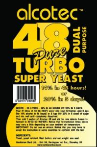 Alcotec 48 Turbo Yeast