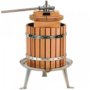 Vigo 12 litre Stainless SteelWood Press