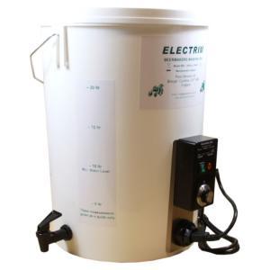 Electrim mashing bin