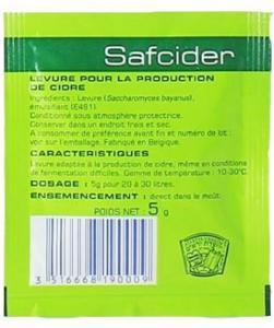 SafCider yeast