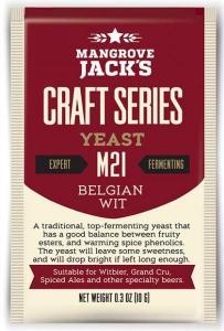 Mangrove Jacks Brewing Yeasts  sachets