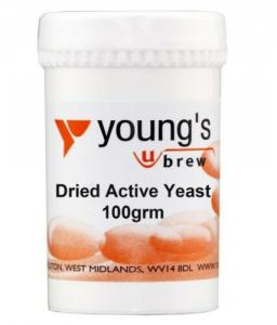 Youngs 100g Dried Active Yeast 150