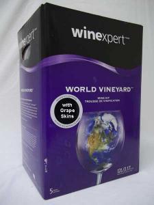 Winexpert World Vineyard with Skins